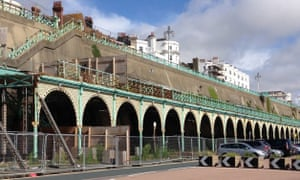 Madeira Terrace, until recently one of the glories of the Brighton seafront, is now apparently beyond repair.