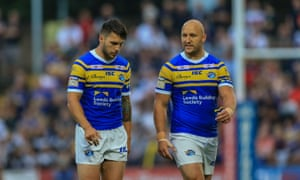 Reigning champions Leeds Rhinos have not won in nine league games and face the prospect of falling into the Qualifiers.