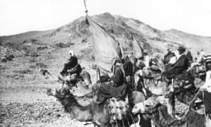 T E Lawrence's Arab soldiers.