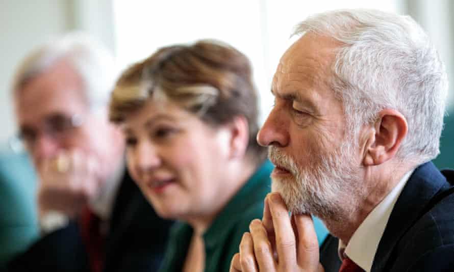 Corbyn, McDonnell, Thornberry