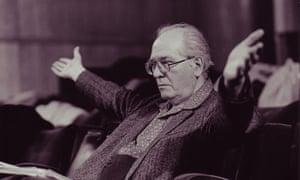 Olivier Messiaen, composer.