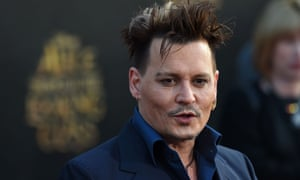Johnny Depp, who will appear in Glastonbury's epic new cinema area.