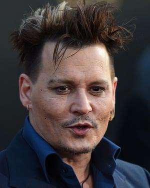 The actor Johnny Depp.