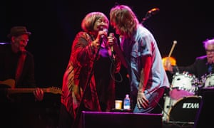 Brandi Carlile (right) and Mavis Staples (left) at Girls Just Wanna.