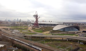 Queen Elizabeth Olympic Park, east London.