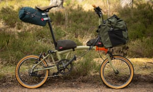 Brompton explore packed and ready for adventure