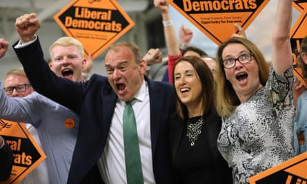 Lib Dems win the Brecon and Radnorshire byelection