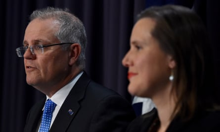 Scott Morrison and financial services minister Kelly O'Dwyer
