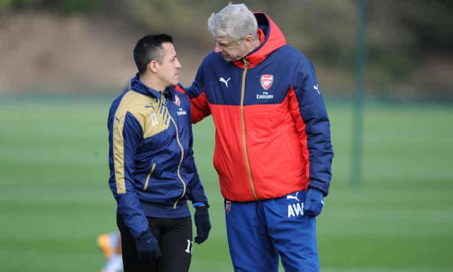 Arsene Wenger says Alexis Sanchez was a wide player 'in his head'