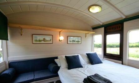 Brockford Railway Siding carriage 1 accommodation