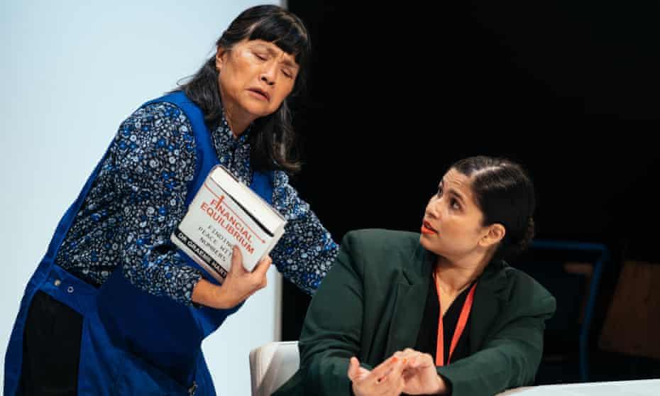 Energetic … Sarah Lam and Zainab Hasan in Rice at the Orange Tree.
