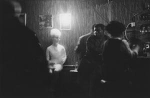 Night club in Ladbroke Grove, 1964.