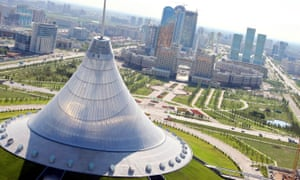 """Astana, the Kazakh capital """