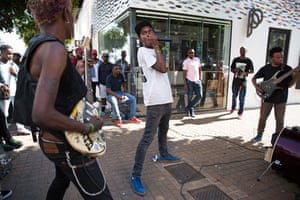 Soweto punk band TCIFY play in Johannesburg.