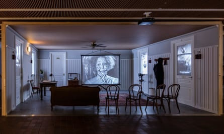 O Sentimental Machine by William Kentridge at the Thick Time – Installations and Stagings, in Salzburg.
