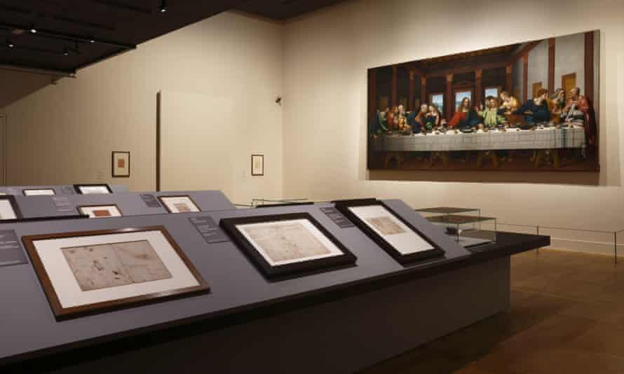 Leonardo da Vinci exhibition at the Louvre