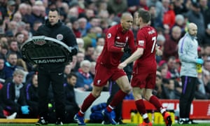 Fabinho replacing James Milner changed the game at Anfield.