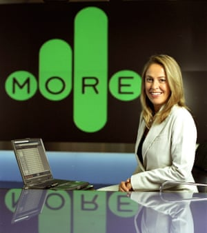 Smith at More4 News in 2007.