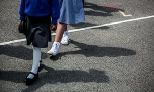 The primary school says the walk inspires children.