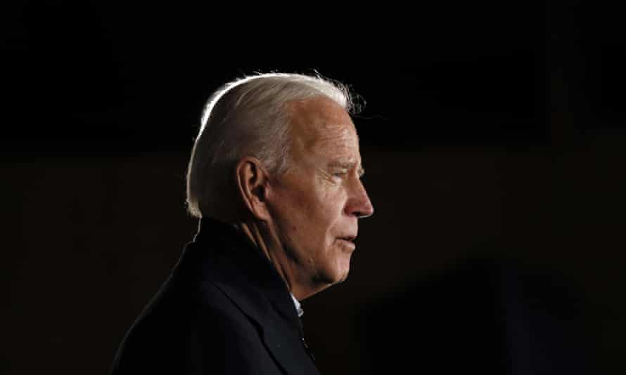 Joe Biden<br>Democratic presidential candidate former Vice President Joe Biden speaks during a town hall meeting at the Jackson County Fairgrounds, Wednesday, Oct. 30, 2019, in Maquoketa, Iowa. (AP Photo/Charlie Neibergall)