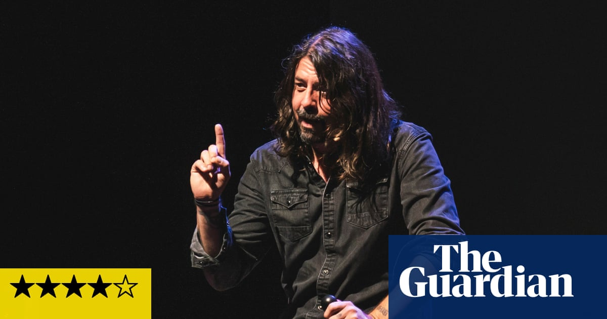 Dave Grohl: The Storyteller review – rock'n'roll raconteur riffs with profanity and positivity