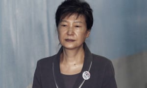 Park Geun-hye, the former South Korean president, is being tried separately for corruption.