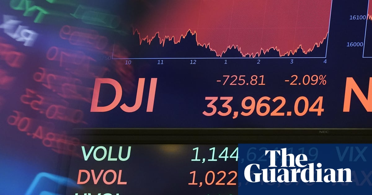 US stock markets tumble as investors fret about Delta variant spread