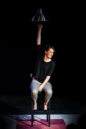 Waller-Bridge in Fleabag at the Big Belly, Underbelly, during the 2013 Edinburgh fringe. She won a Fringe First award and the Stage's best solo performer.