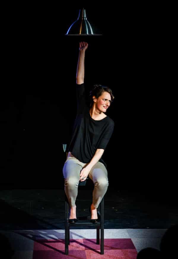Phoebe Waller-Bridge performs Fleabag at Edinburgh's Big Belly in 2013.
