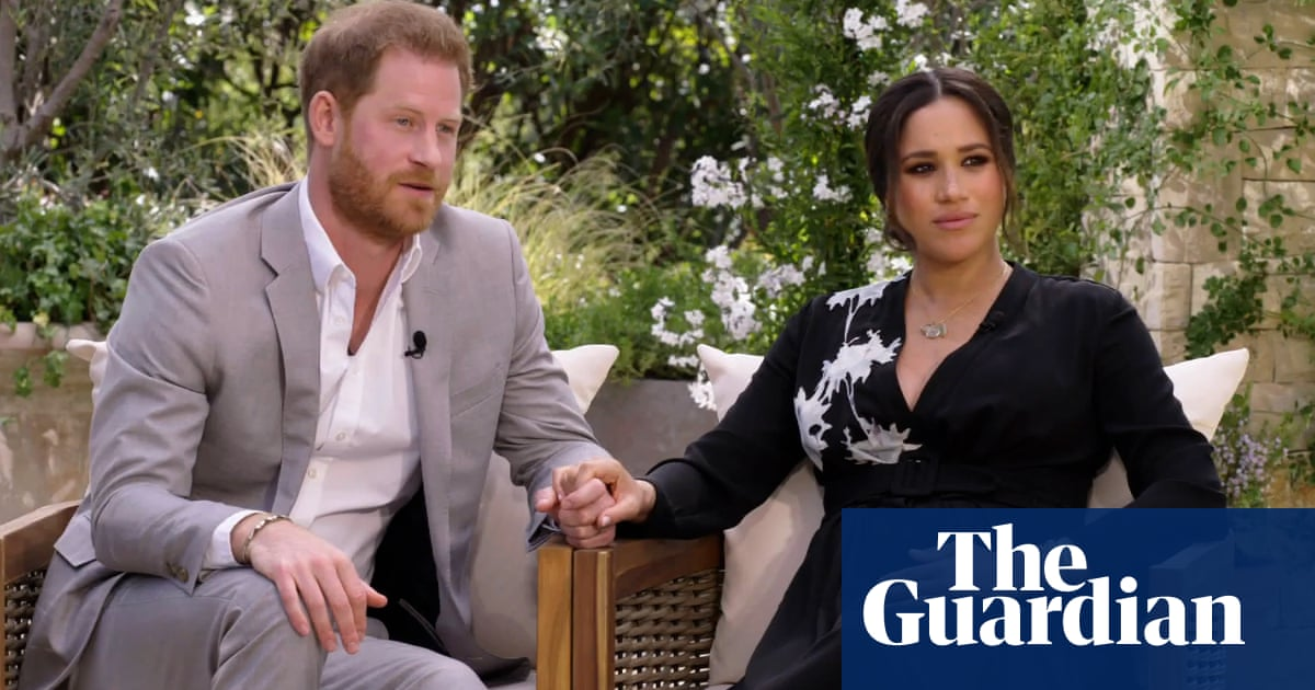 TV tonight: Prince Harry and Meghan sit down with Oprah Winfrey
