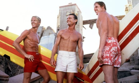 Jan-Michael Vincent with William Katt and Gary Busey in Big Wednesday.
