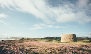 The round house: the ancient Martello tower where the Drift Retreat is based