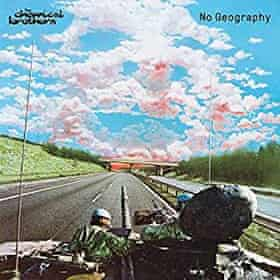 The Chemical Brothers: No Geography album artwork