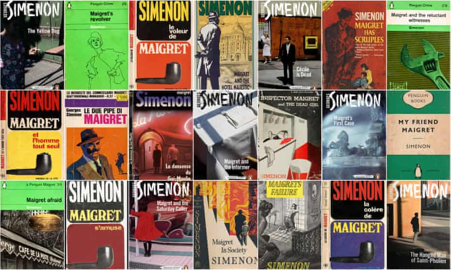 A selection of the Georges Simenon's 75 novels about Chief Inspector Maigret