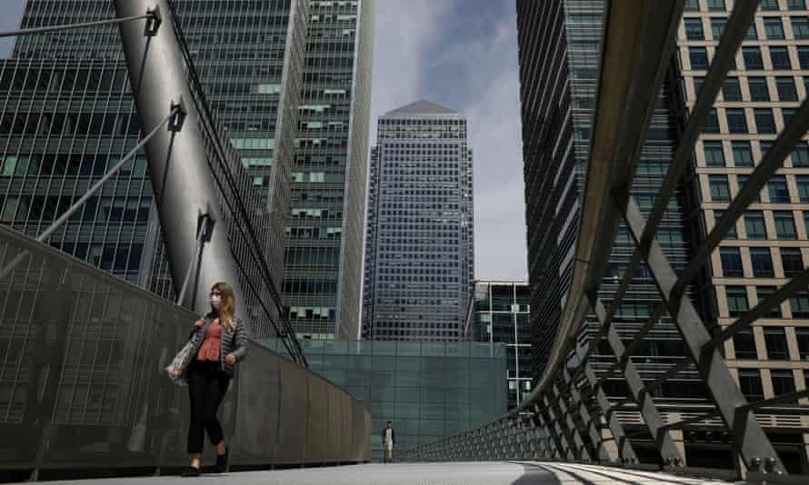 One Canada Square in Canary Wharf