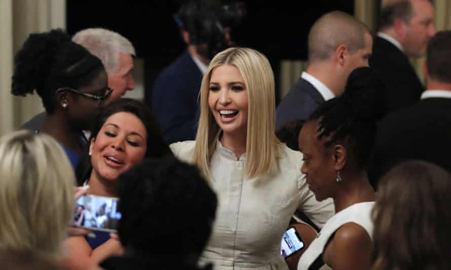 Ivanka Trump at a White House event in July 2019