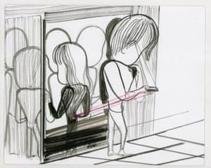 Emma Talbot - Texting, 2011