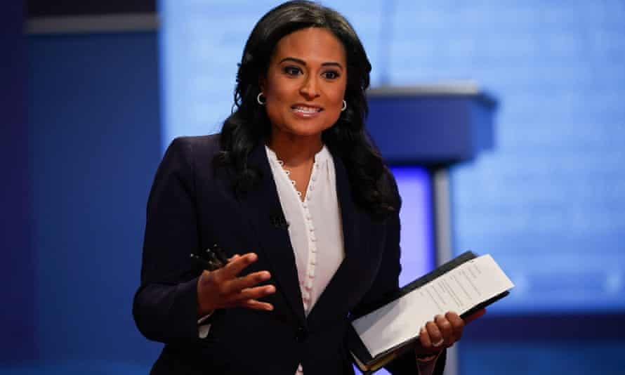 Kristen Welker of NBC moderates the final presidential debate at Belmont University in Nashville last October.