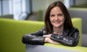 Bank Of England Chief Operating Officer Charlotte Hogg Interview.