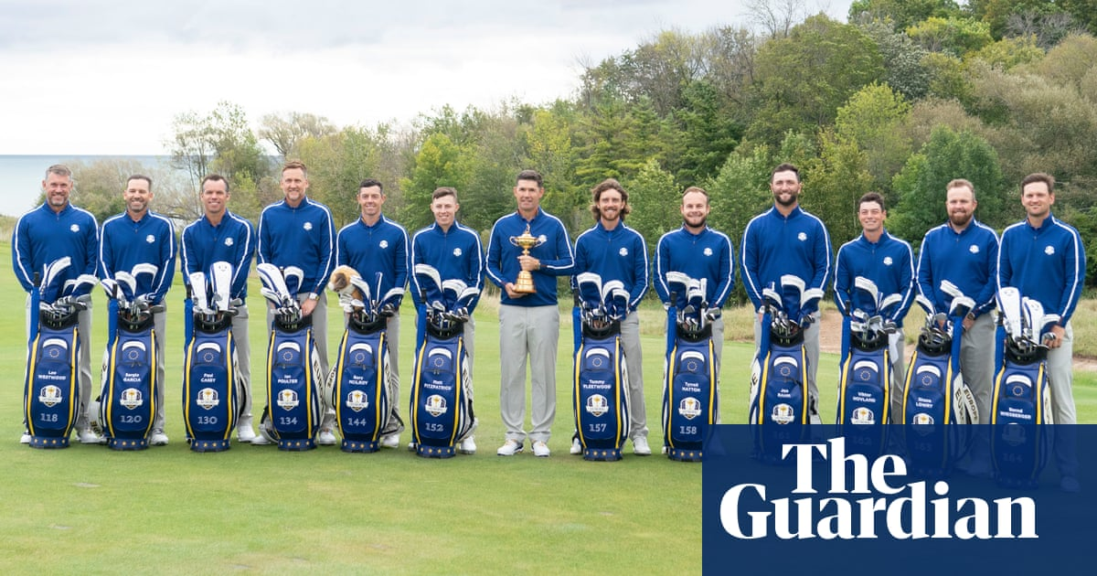 Europe's players will wear Ryder Cup roll numbers on kit for first time