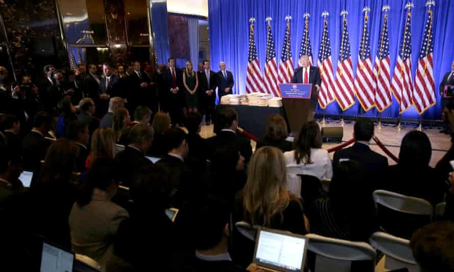 President-elect Donald Trump press conference