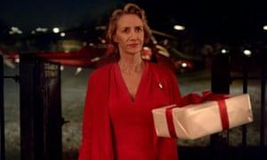 Jane McTeer in Marks & Spencer's Christmas ad.