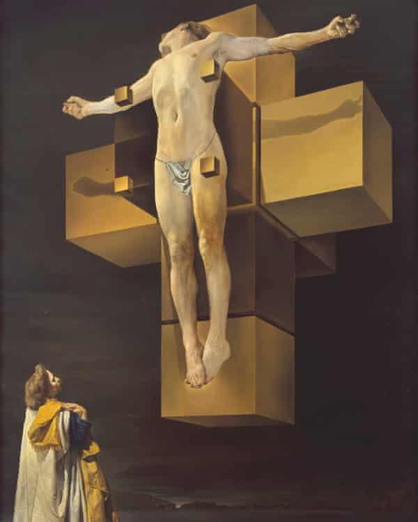 Salvador Dalí Corpus Hypercubus c. 1954