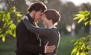 'I made my proposal' … Mia Wasikowska and Michael Fassbender in the 2011 BBC film of Jane Eyre.