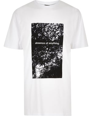 Design T-shirt £25 riverisland.com