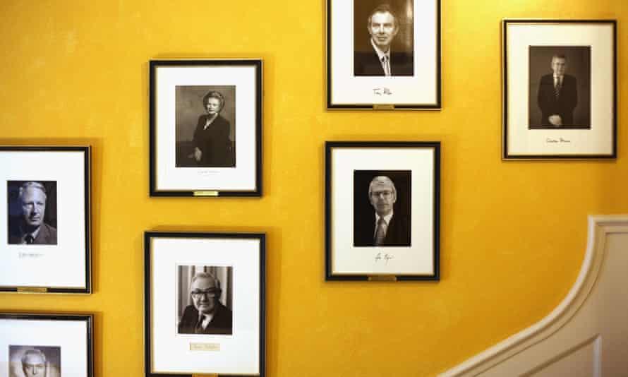 Portraits at No 10 Downing Street