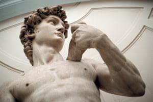 Michelangelo's David.