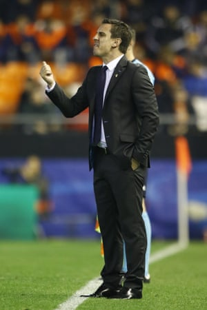 It wasn't the sort of start that Gary Neville would have wanted for this managerial career at Valencia.