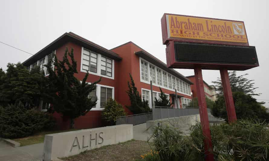 Abraham Lincoln high school was to be renamed under the plan.