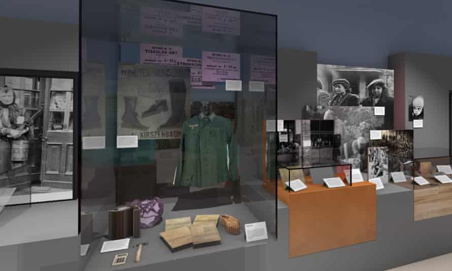 A display at the new Holocaust exhibition